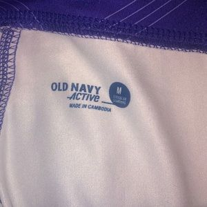Old Navy Bottoms - Purple girls active capris
